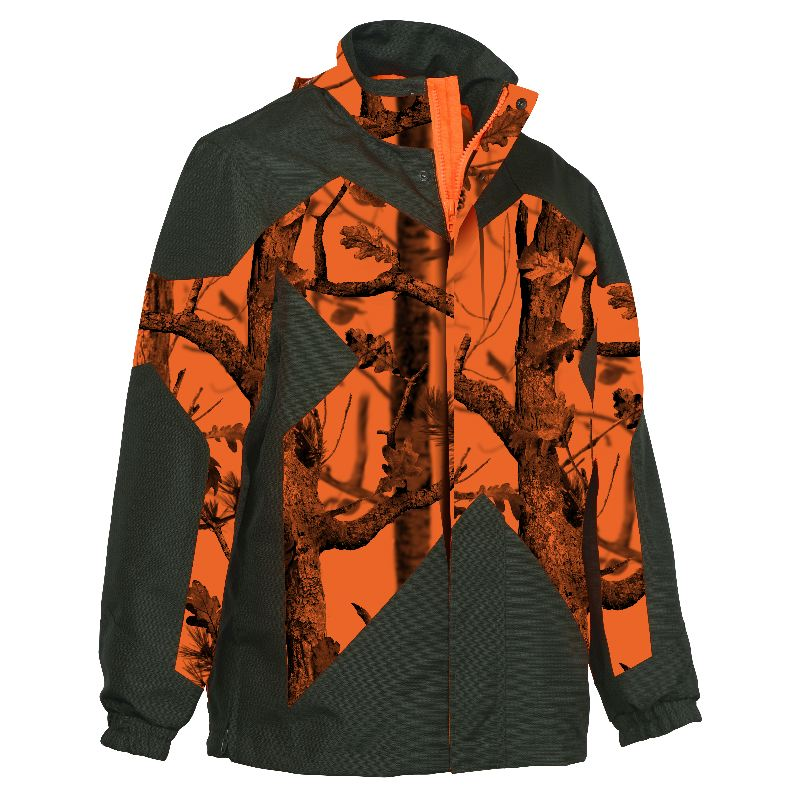 Veste de traque chasse percussion predator r2 kaki ghostcamo