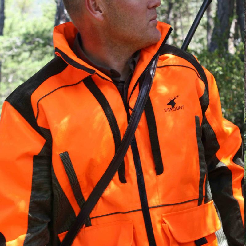 Veste de traque stagunt tracklight blaze orange