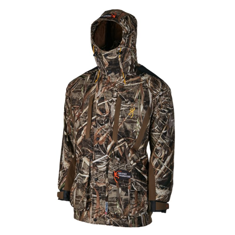 Veste parka browning grand passage pro dirty bird camo max5