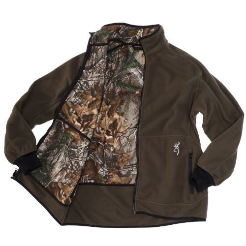 Veste polaire browning powerfleece re versible xtra vert1
