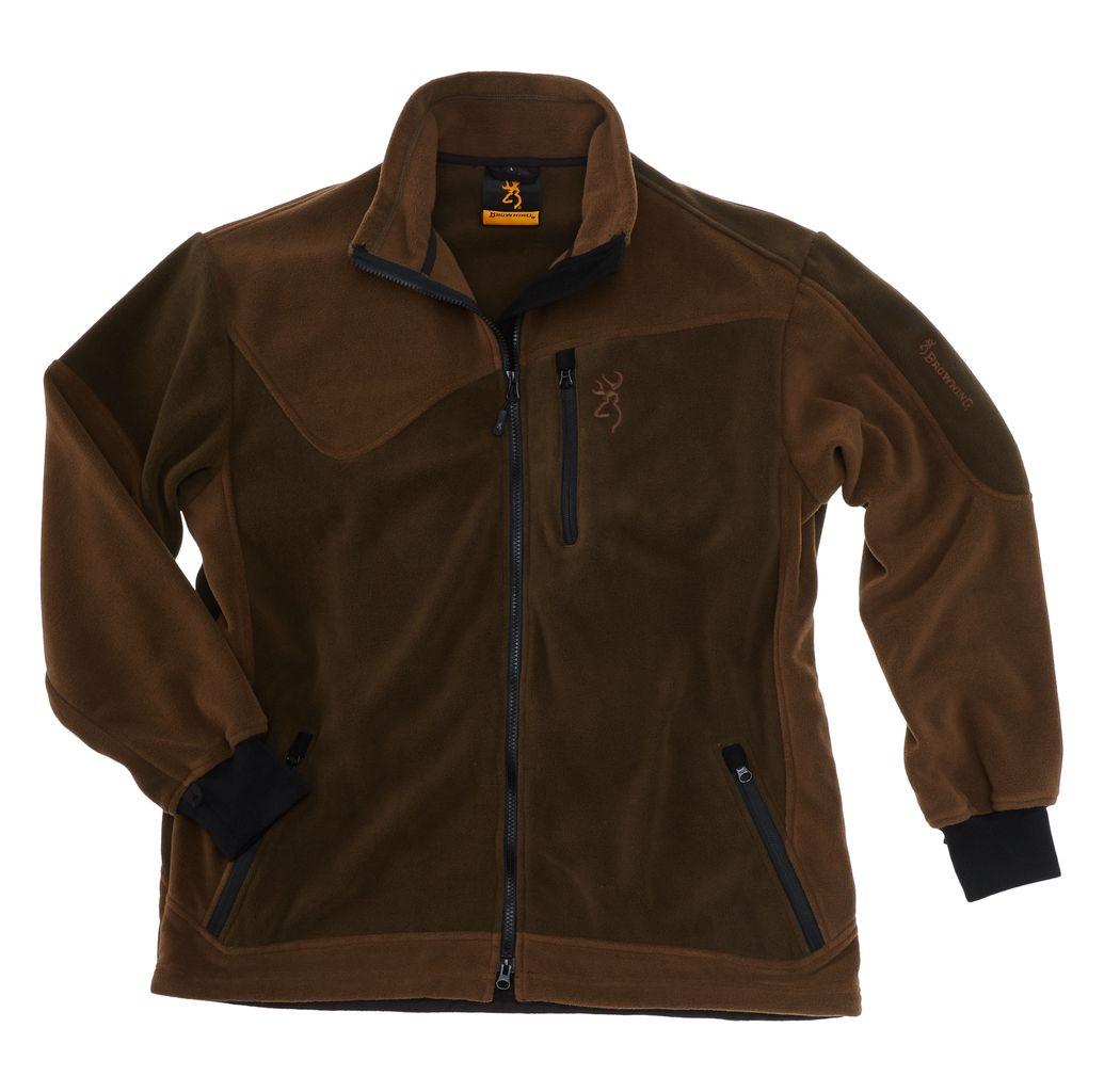 Veste polaire browning powerflice one brun marron pas cher