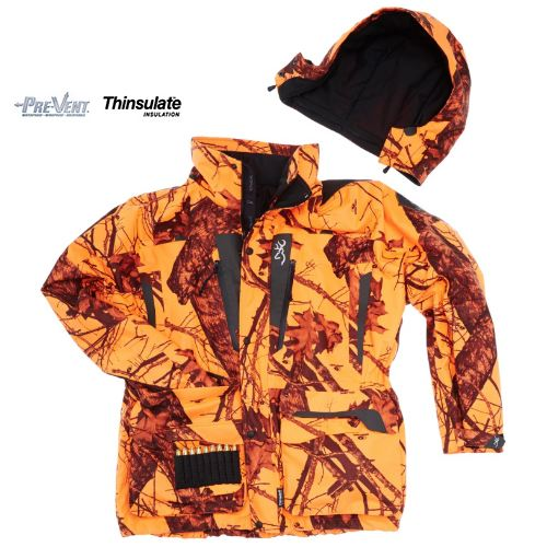 Veste xpo big game browning orange moblz collection 2015