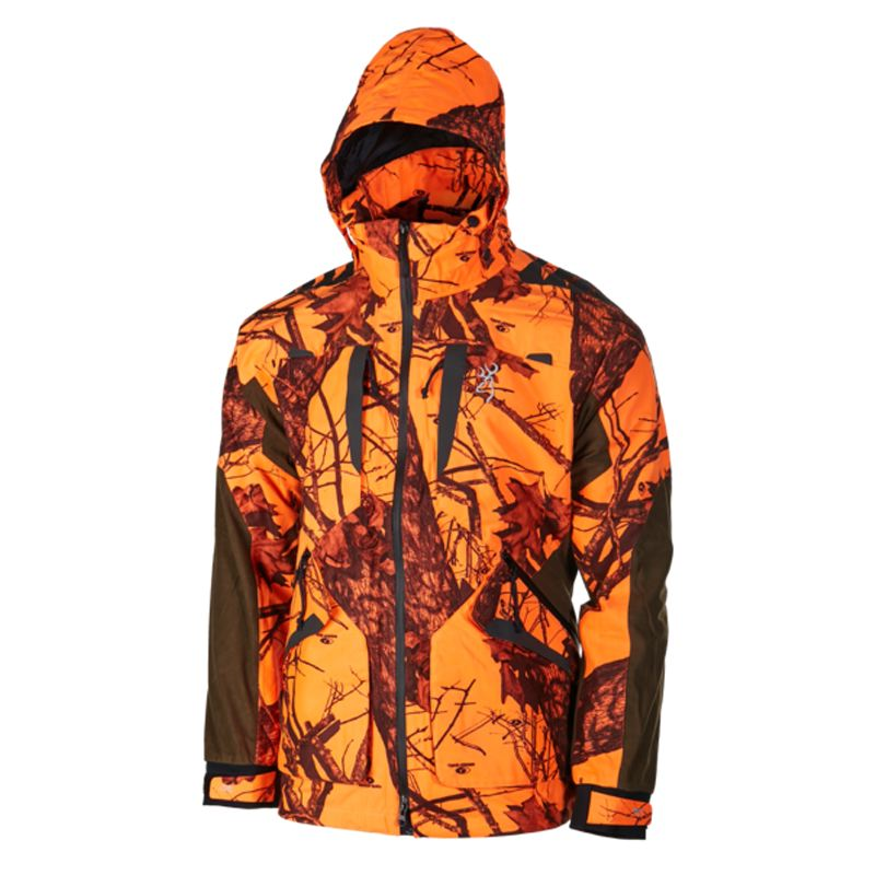 Veste xpo light zippin blaze orange browning chasse chasseur 1