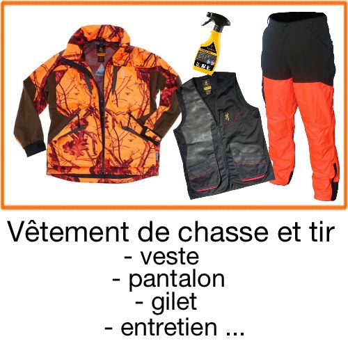 chasseur  compagnie equipement chasse  tir sportif