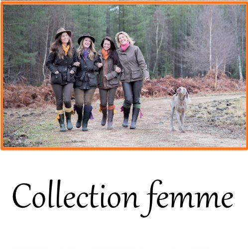Vetement de chasse femme