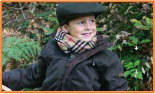 Vetement de chasse pour enfant