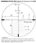 Vortex diamondback tactical 4 16x44 ffp ebr 2c moa dimensions