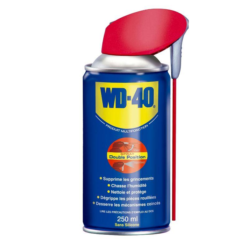 Wd40 en spray avec te te pro 2 jets huile antirouille